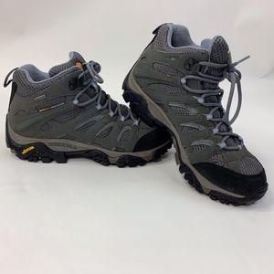 Merrell Women's Moab Mid Gore-Tex Hiking Boots 9